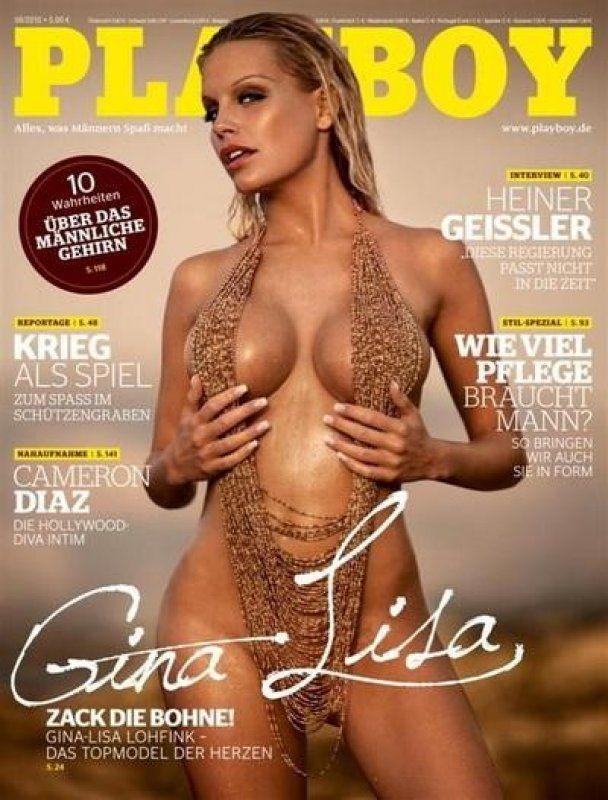 Подружка німецького футболіста оголила пишні форми для Playboy