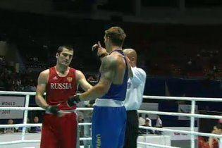 Украинец сенсационно победил россиянина на чемпионате мира по боксу