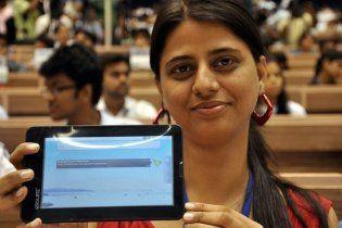В Індії презентували планшет для бідняків