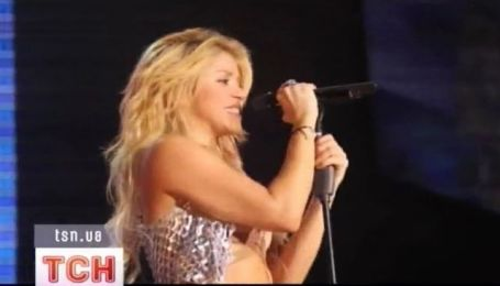 Шакира едет в Киев