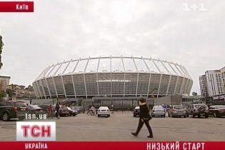 """За два дні до відкриття НСК """"Олімпійський"""" ще не готовий"""