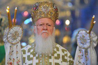 Вселенский патриарх прилетел на Афон ради Януковича