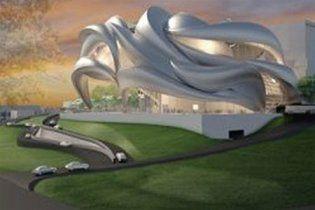 """В Німеччині побудують театр, що """"витає в повітрі"""""""