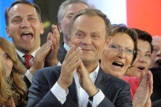 Прем'єр Польщі оголосив про перемогу своєї партії на виборах