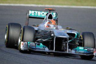 42-річний Шумахер встановив черговий рекорд у Формулі-1
