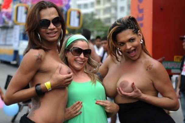 У Ріо-де-Жанейро провели мільйонний гей-парад
