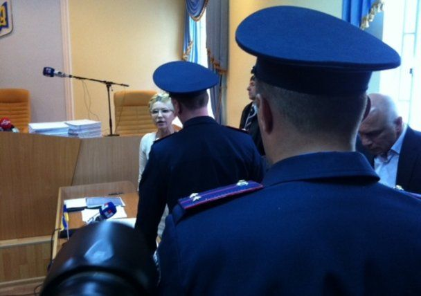 Юлія Тимошенко в очікуванні вироку у Печерському суді