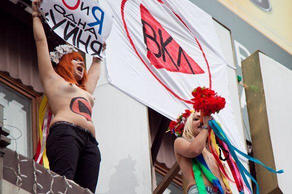 """Акція FEMEN """"Ю та Я - одна *уйня"""" (ч.2)_4"""
