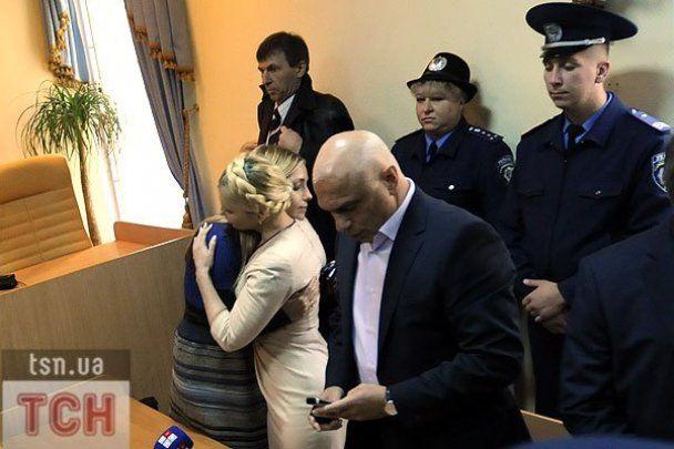 Приговор Печерского суда: семь лет для Юлии Тимошенко