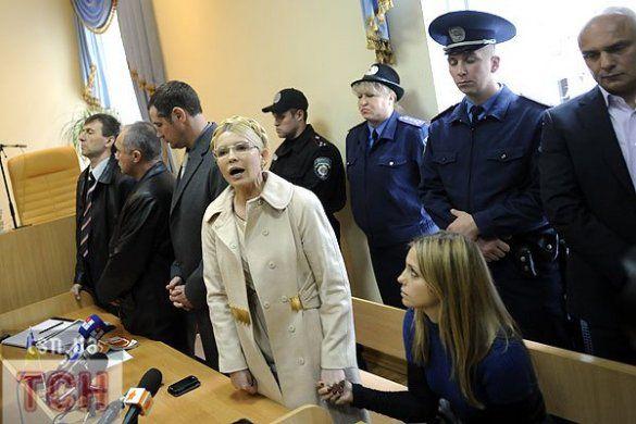 Вирок Тимошенко, репортаж із зали Печерського суду_37
