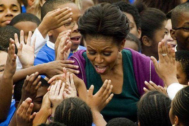 Мішель Обама потрапила до Книги рекордів Гіннеса