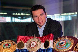 Володимир Кличко визнаний найкращим боксером року