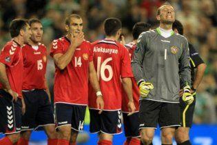 Вірменія звинувачує УЄФА в тому, що її не пустили на Євро-2012