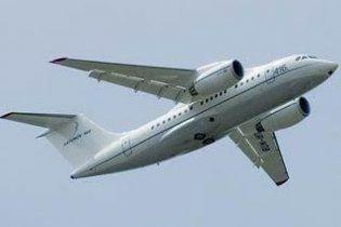 Російський літак зламався при вильоту з Сімферополя
