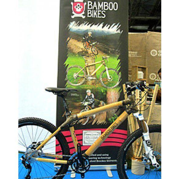 Велосипед з бамбука