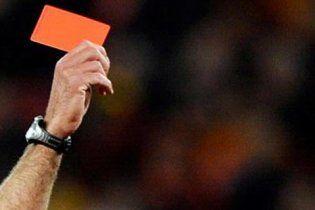 Футболіст відправив арбітра в нокаут за червону картку