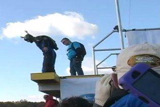 Екстремал вижив після падіння з висоти в 275 метрів (відео)