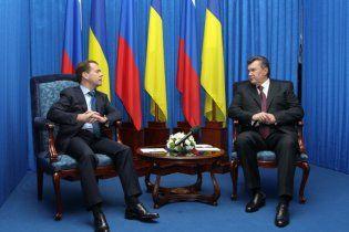 ЗМІ: Янукович та Медведєв не домовились про газ