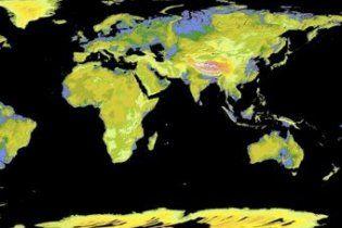 NASA оприлюднило найточнішу топографічну карту Землі