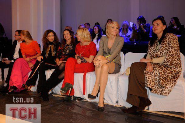 На улюбленого дизайнера Вікторії Бекхем зібралася українська VIP-тусовка