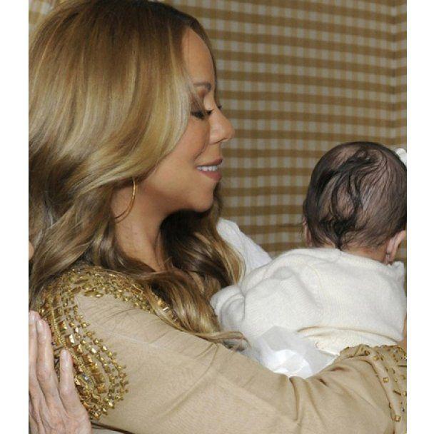Мерая Кері вперше показала своїх малюків