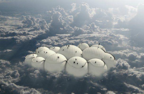 В будущем будут путешествовать на автобусах-облаках