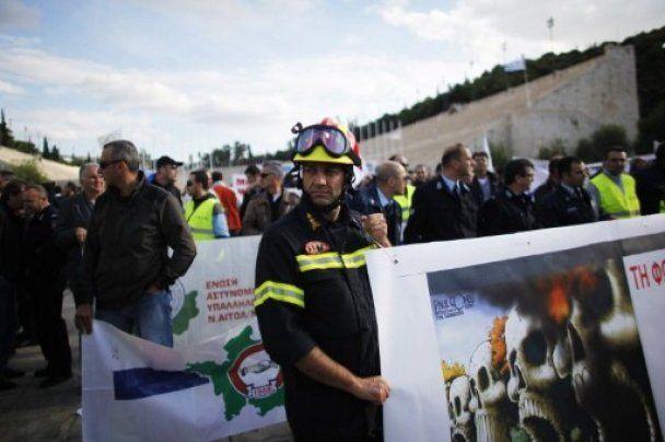 Загальний страйк паралізував Грецію на дві доби: не працює майже нічого