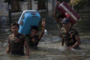 МИД советует украинцам не соваться в затопленный Таиланд