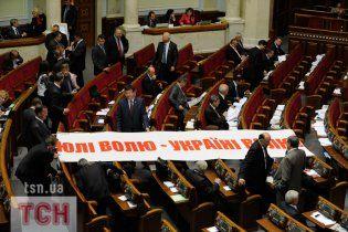 """""""Батьківщина"""" розпочала збір підписів за відставку Януковича"""