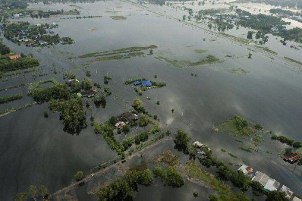 Найбільша за 50 років повінь у Таїланді: Бангкок під водою
