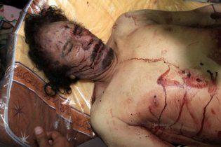 Каддафі отримав смертельне поранення, коли його везли до лікарні