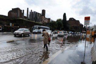 В Италии от наводнений погибли девять человек