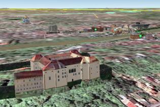 Ужгород завів собі 3D-мапу на Google Earth
