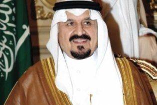Помер спадкоємець короля Саудівської Аравії