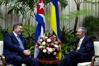 """Янукович рассказал, как перешел с Кастро на """"ты"""""""