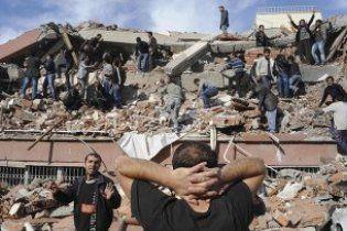 Жертвами землетрусу в Туреччині стали вже 138 осіб