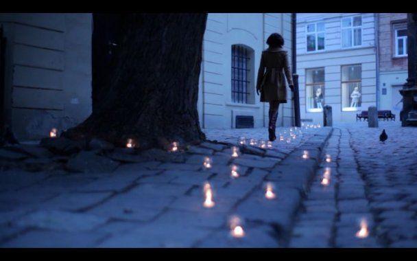 Во Львове Джамала плакала, но снимала фильм