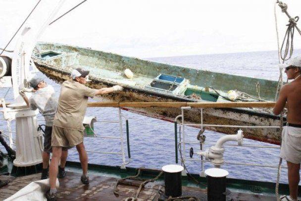 20 мільйонів тонн японського сміття наближаються до узбережжя США