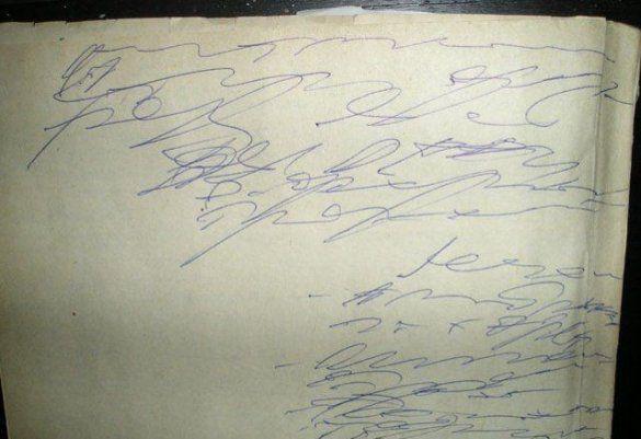 Лікарський почерк