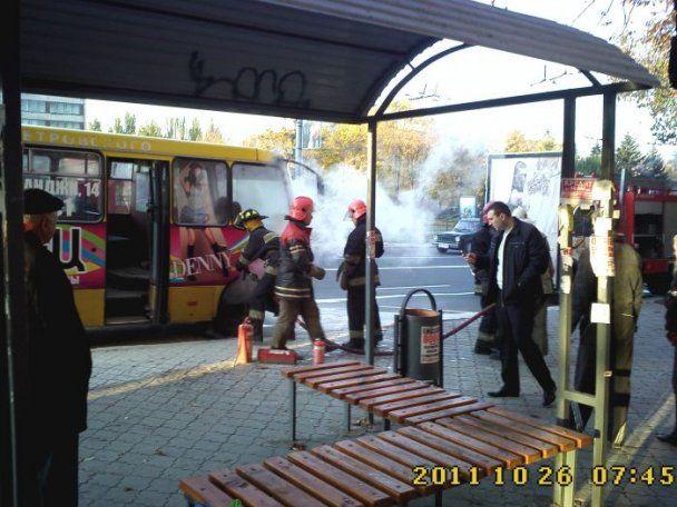 В Мариуполе маршрутка загорелась после остановки