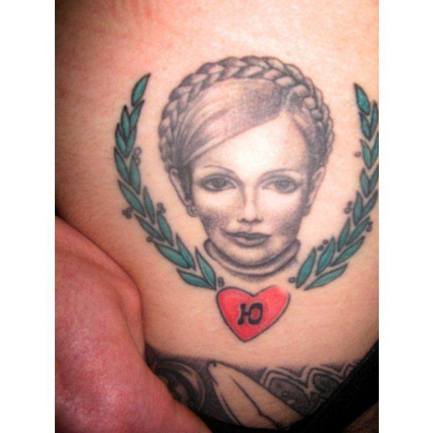 Зек 5 років носить портрет Тимошенко в трусах