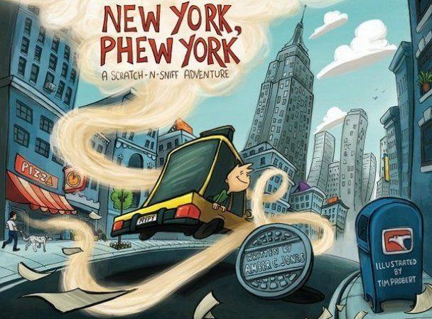 Уникальный комикс о Нью-Йорке с запахом хот-догов