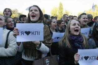 Табачник вернул студентам КПИ их ректора