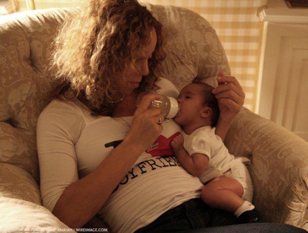Мэрайя Кэри похудела на 35 килограммов после родов