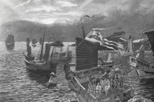 Затонулий 8 століть тому флот Чингісхана знайшли у Японії (відео)