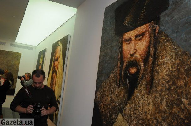 В PinchukArtCentre показують Шевченка і Кличків з пейсами