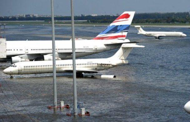 Катастрофічна повінь: в Бангкоку затоплено Великий палац