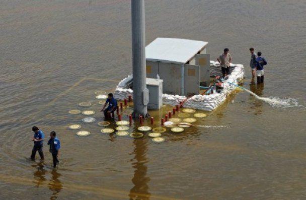 Жертвами наводнения в Таиланде стали более 400 человек