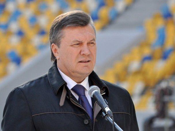 """Виктор Янукович не дождался открытия """"Арены Львов"""""""