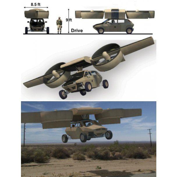 Пентагон готовит на вооружение летающие бронеавтомобили